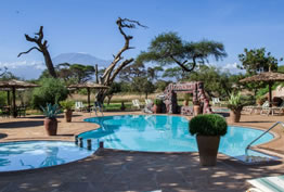 Swimming Pool at Sentrim Amboseli Lodge