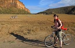 Bike Safari at Hells Gate National Park