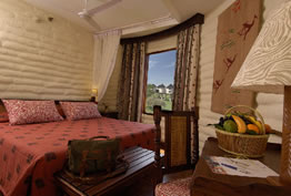 Room at the Taita Hills Salt Lick Lodge