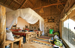 Room at the Ngulia Safari Camp